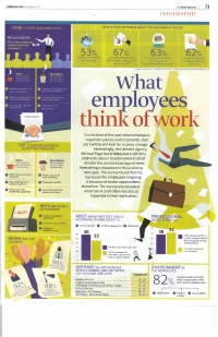 The Edge Malaysia - What Employees Think Of Work (23 December 2019)